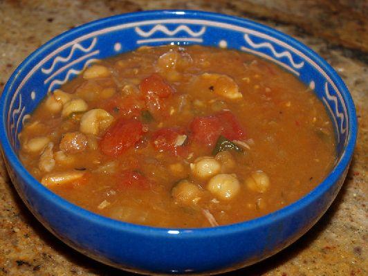 """""""Харира"""", марокканский суп, очень распространённый в Израиле"""
