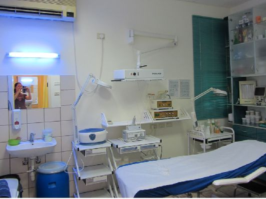 Косметологический кабинет, Эйн-Бокек
