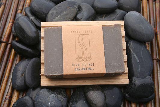 Мыло на основе чёрной грязи Мёртвого моря