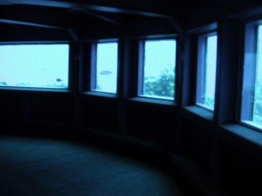 Один из залов подводной обсерватории