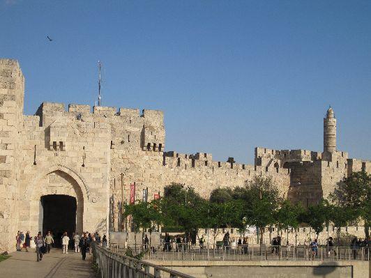 Ворота Яффы и башня Давида
