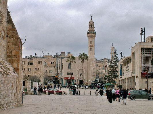 Вифлеем расположен на западном берегу реки Иордан