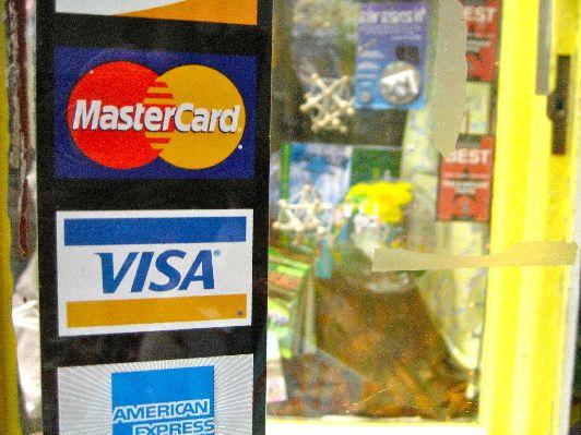 В Израильских магазинах принимают пластиковые карты