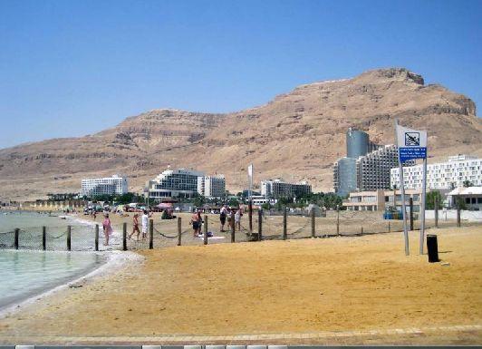 Самая южная точка Израиля - курорт ''Эйн Бокек''