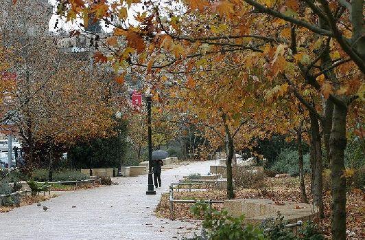 Осень в Иерусалиме - настоящая отрада для тех, кто плохо переносит летнюю жару