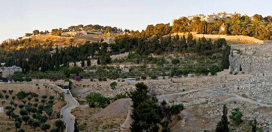 Кидронская долина в Иерусалиме
