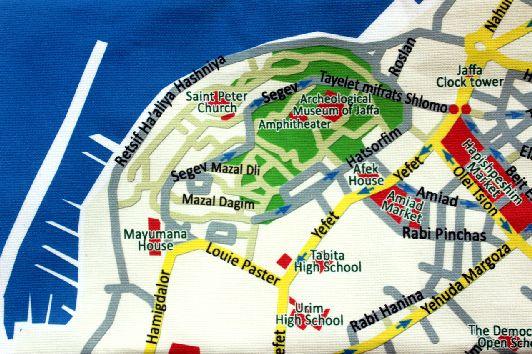 Схематический план района ''Яффа''