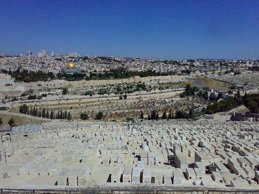 Древнее еврейское кладбище, заложенное во времена Первого Храма