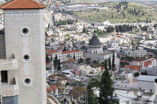 Назарет находится на севере Израиля