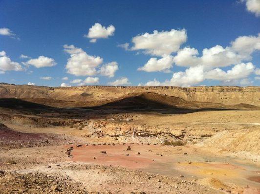 Пустыня ''Негев'' занимает южную часть Израиля