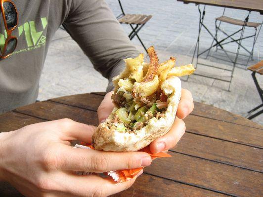 Самая дешёвая еда в Израиле - уличный фаст-фуд