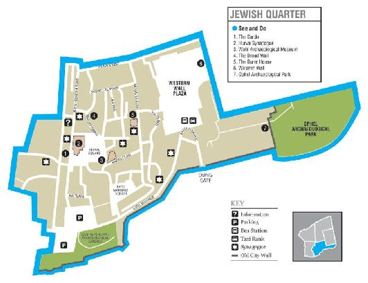 План еврейского квартала