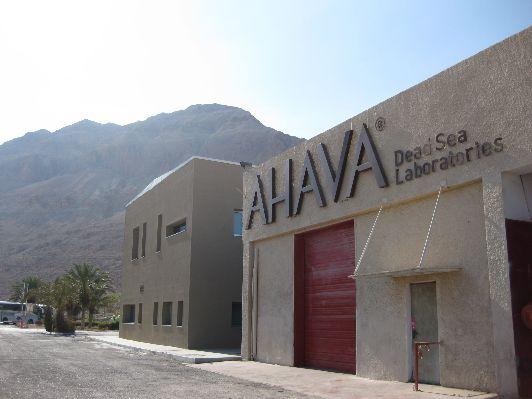 Косметическая лаборатория  фирмы ''Ahava''