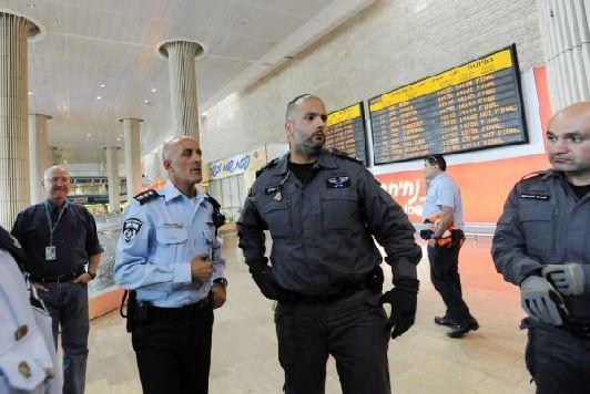 Как и везде в Израиле в аэропорту Эйлата безопасность на высоте