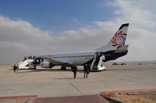 Посадка в аэропорту Эйлата