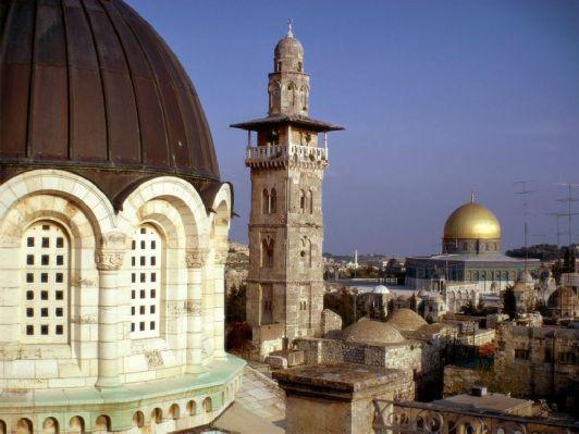 Иерусалим по-прежнему остается местом массового паломничества верующих со всей планеты