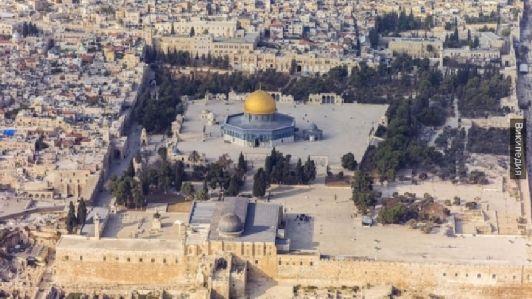 Мечеть Аль-Аска и купол Скалы в Иерусалиме