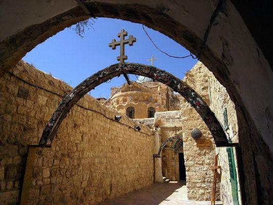 Вия Долороса в Иерусалиме