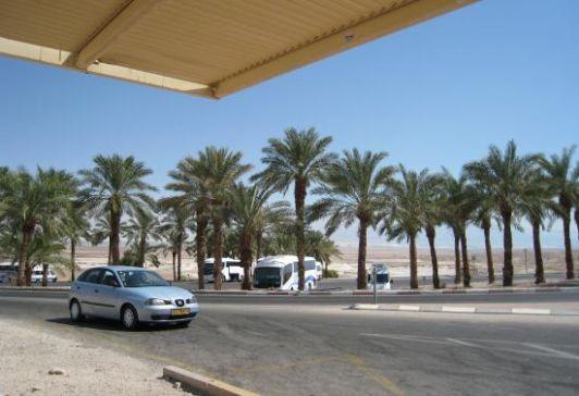 Из Эйлата до Мертвого моря на машине 2 часа пути