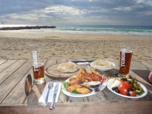 Пляжи в Хайфе одни из лучших в Израиле, отдыхать на них одно удовольствие!