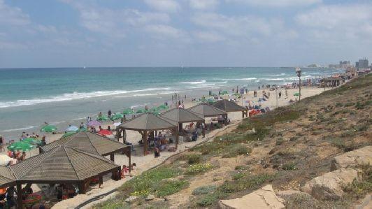 Пляж Хоф Цук (HaTzuk Beach)