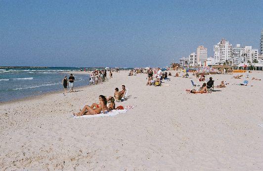Лучшие пляжи Тель-Авива