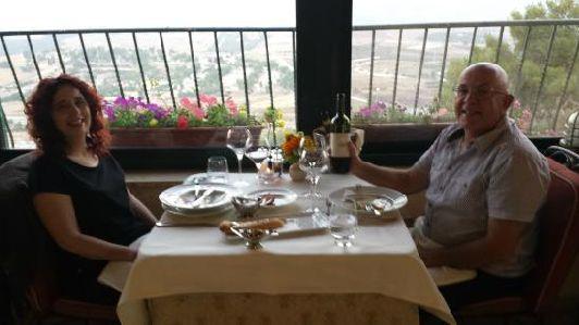 Ресторан Мускат, расположенный в живописном городе Галилее, предлагает меню на основе продукции местной органической фермы