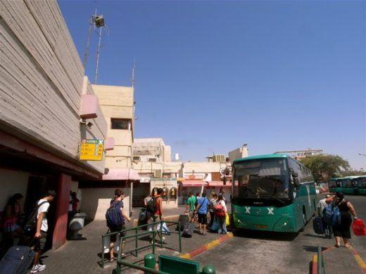 Центральный автовокзал в Эйлате по адресу бульвар Ха-Тмарим, 12