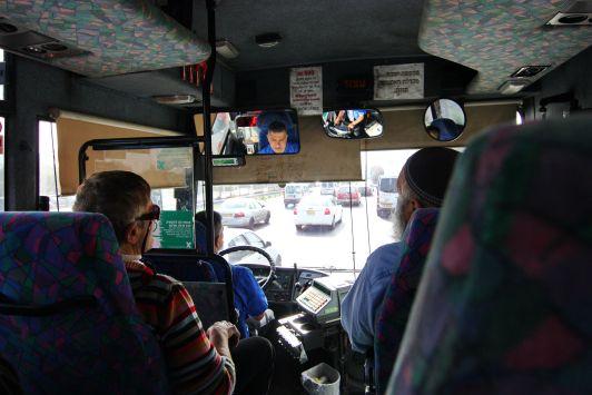 Проезд оплачивается у водителя при входе в автобус
