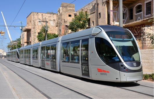 Иерусалим - единственный город в Израиле, где ездят трамваи