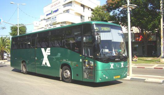 Автобусы компании Эгед встречаются во всех городах Израиля