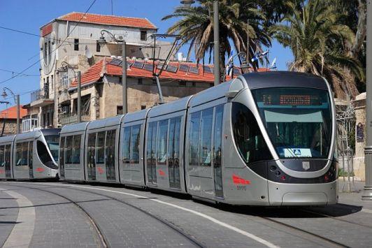 Трамваи в Израиле удобные, но пока есть только в столице - в Иерусалиме