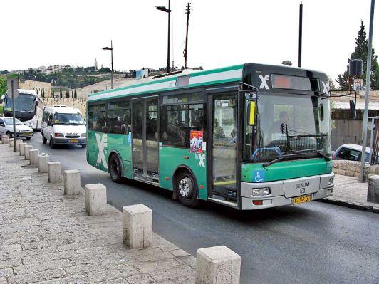 Автобусы в Тель-Авиве ходят каждый день кроме шаббата