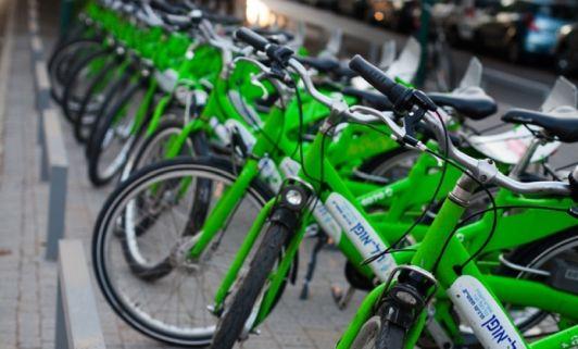 В Тель-Авиве самый широкий выбор общественного транспорта - от велосипеда до поезда